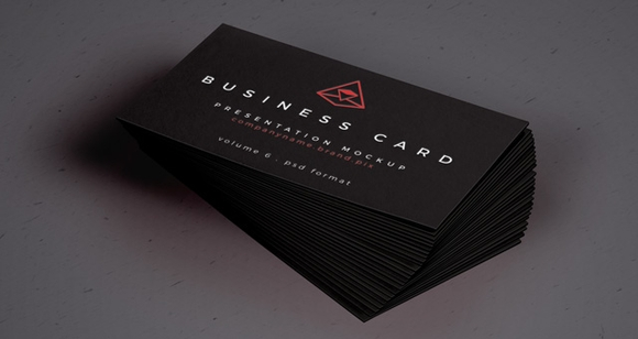 Dont Get Black Business Cards
